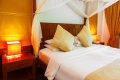 Hotelruimte in de Maldiven royalty-vrije stock afbeeldingen