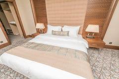 Hotelruimte met modern binnenland Royalty-vrije Stock Foto
