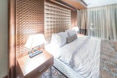Hotelruimte met modern binnenland Stock Foto