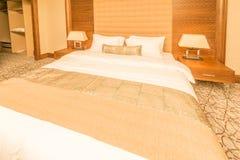 Hotelruimte met modern binnenland Stock Foto's