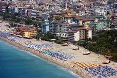 Hotels in Alaniya Lizenzfreies Stockbild