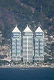 Hotels auf Acapulco-Ufergegend Stockfoto
