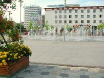 Hotels in Bacau stock afbeeldingen
