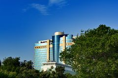 Hotels of Baku, Hilton hotel Royalty Free Stock Images