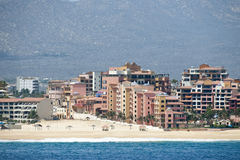 Hotels in Cabo San Lucas Royalty Free Stock Photo