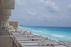 Hotels in Cancun Stock Photo