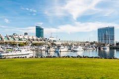 Hotels and Convention Center at Embarcadero Marina Park North Stock Image