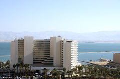 Hotels on Dead Sea. Royalty Free Stock Image