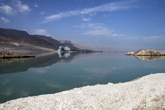 Hotels at the Dead Sea Stock Image