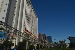 Hotels en Winkels op de Strook 26 Juni, 2017 van Las Vegas Reis Holydays Stock Afbeeldingen