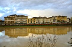 Hotels in Florence Royalty Free Stock Images