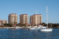 Hotels in Florida Lizenzfreies Stockfoto