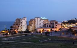 Hotels in Fuengirola, Spain Royalty Free Stock Images