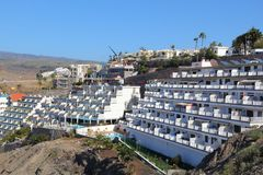 Hotels in Gran Canaria Stock Image