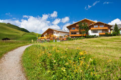 Hotels on a hill Royalty Free Stock Photography