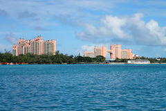 Hotels in Nassau Royalty Free Stock Images