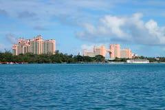 Hotels in Nassau lizenzfreie stockbilder