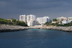 Hotels near the sea Royalty Free Stock Images
