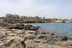 Hotels near sea Royalty Free Stock Photography