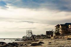 Hotels op de kust van de Zwarte Zee stock fotografie