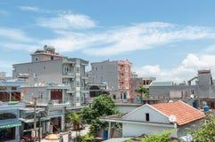 Hotels on Quan Lan Island Stock Photo