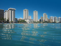 Hotels and Resorts in Waikiki, Hawaii Stock Images