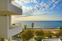 Hotels in the Sa Coma, Majorca, Spain Stock Images