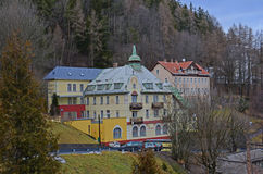 Hotels in Semmering Royalty Free Stock Images