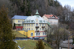 Hotels in Semmering Stock Photography