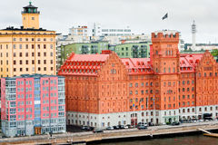 Hotels in Stockholm, Sweden Royalty Free Stock Photos