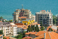Hotels in Sveti Vlas in Bulgaria Stock Images