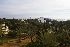 Hotels in Tunisia stock image