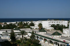 Hotels in Tunisia Stock Photos