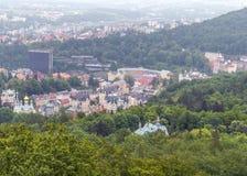 Hotels und Erholungsort in Karlsbad Lizenzfreies Stockbild