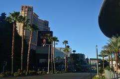 Hotels und Shops auf dem Las Vegas-Streifen am 26. Juni 2017 Reise Holydays Lizenzfreies Stockbild