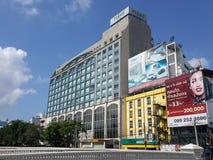Hotels voor alle begrotingen royalty-vrije stock afbeelding
