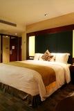 Hotelschlafzimmer Lizenzfreies Stockfoto