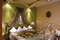 Hotelschlafzimmer Stockfoto