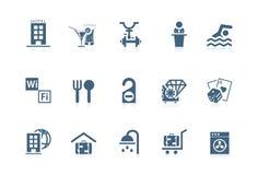 Hotelservice | kleine Serie Stockfoto