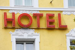 Hotelsign Royalty Free Stock Image