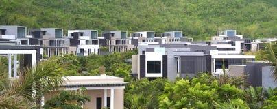 Hotelstandort Chinas Sanya Lizenzfreie Stockfotos