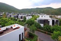 Hotelstandort Chinas Sanya Stockfoto