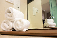 Hoteltücher Stockfotografie