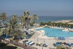 Hoteltoevlucht in Cyprus Royalty-vrije Stock Fotografie