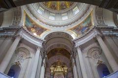 Hotelu des Invalides, Paryż, Francja Fotografia Stock