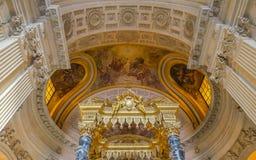 Hotelu des Invalides, Paryż, Francja Zdjęcie Royalty Free
