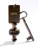 Hotelu klucz Zdjęcia Stock