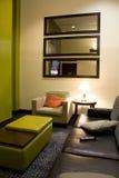 Hotelu kuluarowy żywy pokój zdjęcia stock