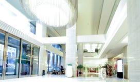 Hotelu lobby Zdjęcia Royalty Free