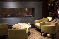 Hotelu lobby bar Obrazy Stock